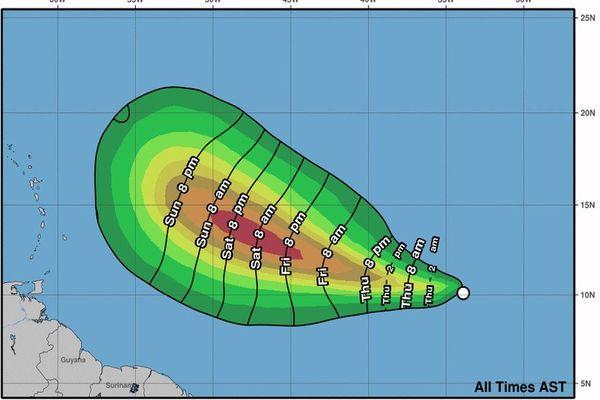 Dépression tropicale 18