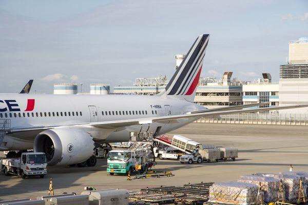 Avion Air France fret aérien