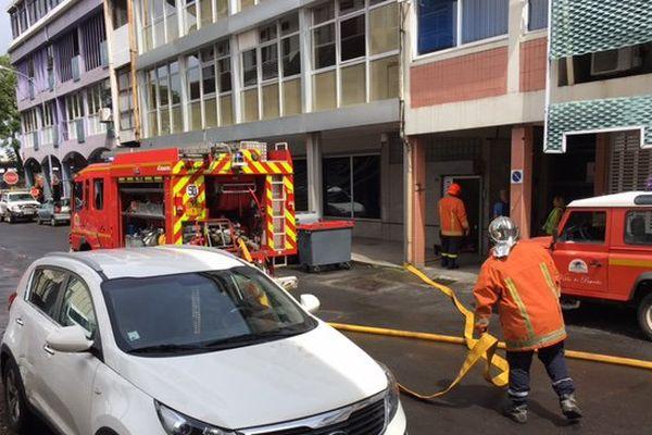 OPT : un exercice d'incendie au second étage