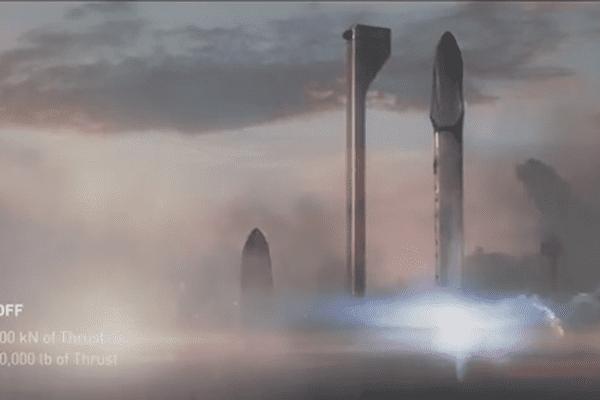 La fusée de lancement du vaisseau serait contruite en fibre de carbone