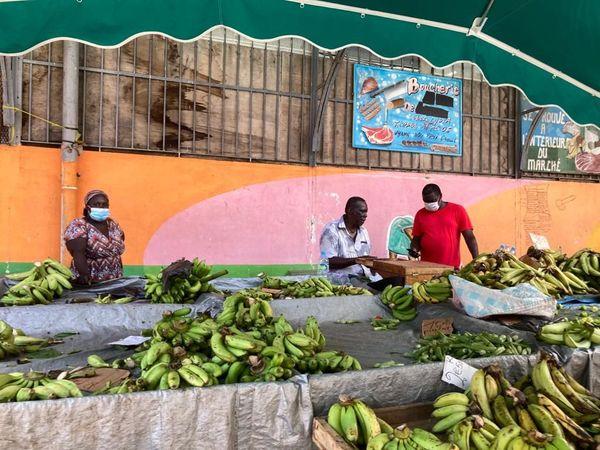 Le marché de Cayenne