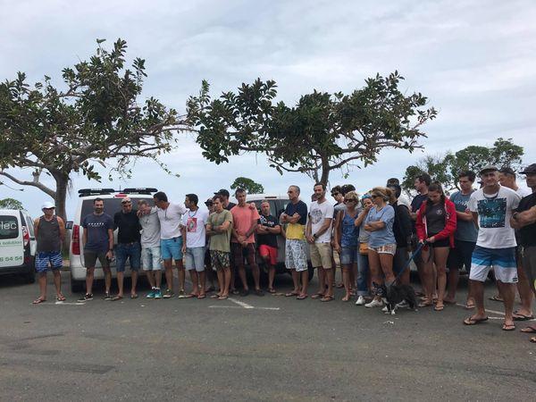 Hommage victime requin Nouville 25 avril 2021