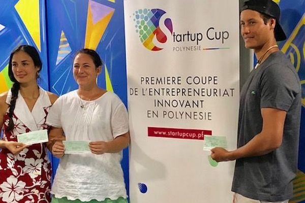 Les jeunes chefs d'entreprises récompensés pour leurs projets innovants