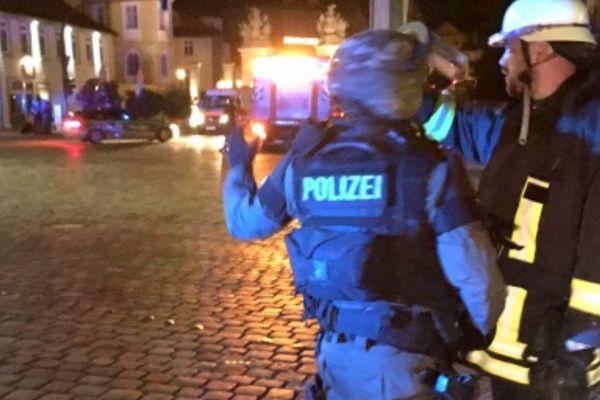 """Allemagne : une explosion """"volontaire"""" fait un mort et une dizaine de blessés"""