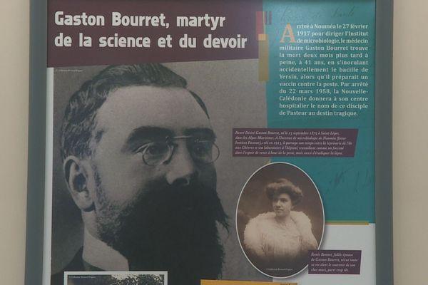 Exposition sur Gaston Bourret