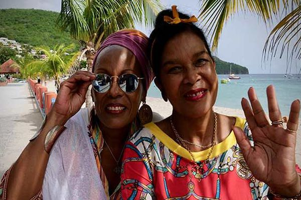 Renée Liz Cimper et Michèle Maillet