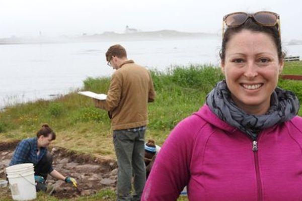 Trois questions à Catherine Losier, professeur d'archéologie, en mission à Saint-Pierre