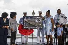 Hommage des Etats-Unis au marin Doris Miller héro de Pearl Harbor