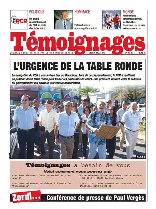 TEMOIGNaGES 29/07