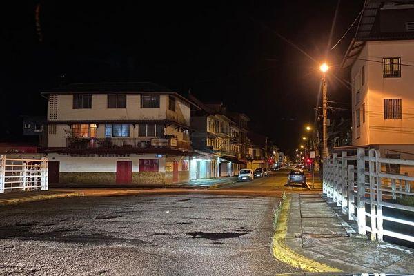 Couvre-feu à Cayenne