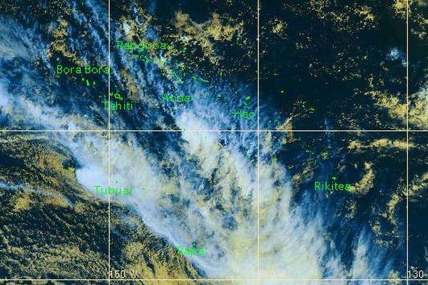 Vigilance météo : vents violents et fortes pluies aux Australes