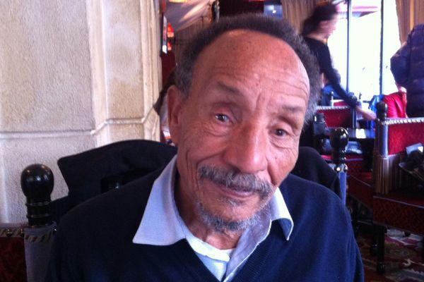 Pierre Rabhi, au café le Zimmer à Paris