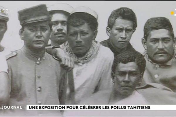 En souvenir des poilus tahitiens