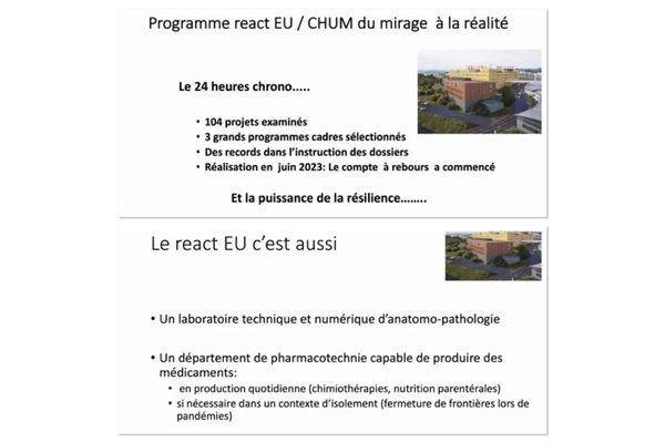Hospitaliers / projet EU
