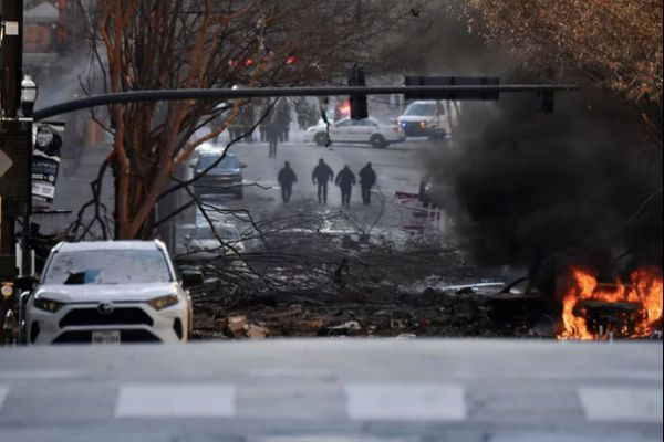explosion Nashville