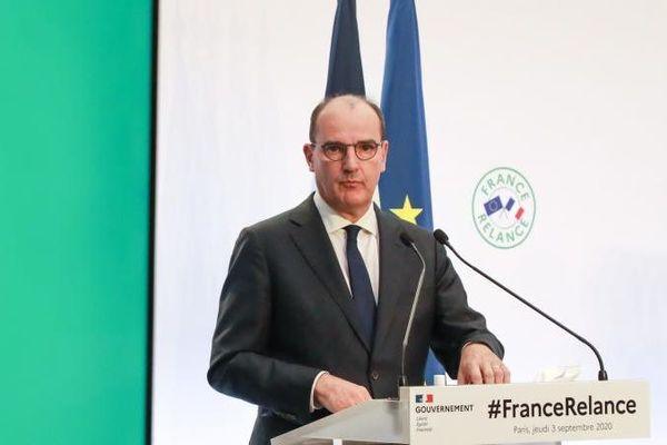 Jean Castex, Premier ministre présentation plan de relance économique France relance 030920