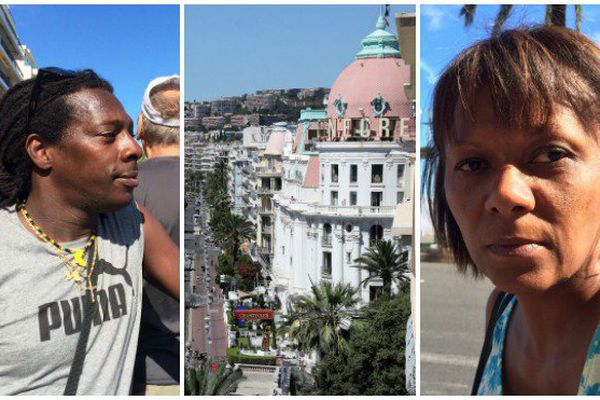 Joseph et Cathy, deux Antillais traumatisés par l'attentat de Nice