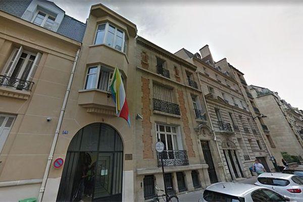 Ambassade de l'Union des Comores à Paris