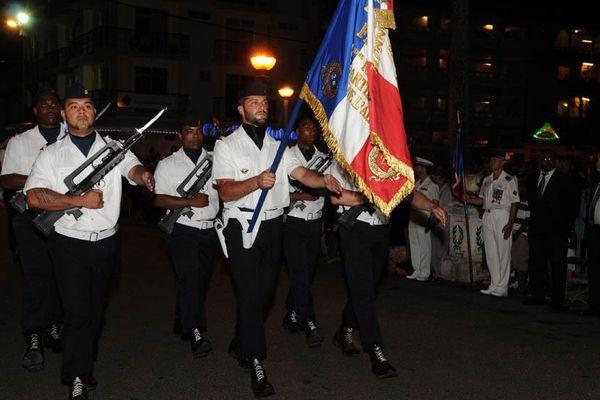 Défilé 14 juillet à Cayenne