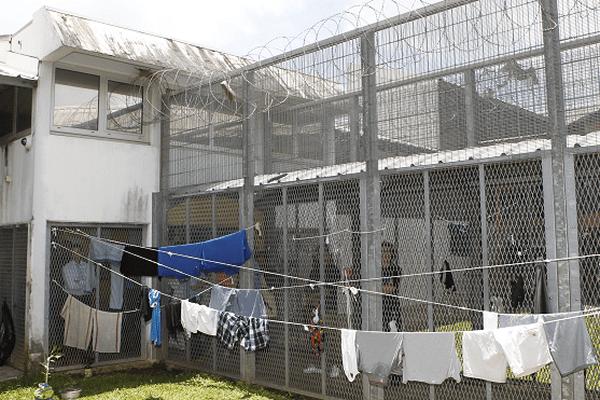 Prison de Baie-Mahault en Guadeloupe.