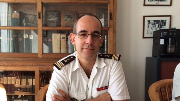 Capitaine de Vaisseau Laurent Bechler