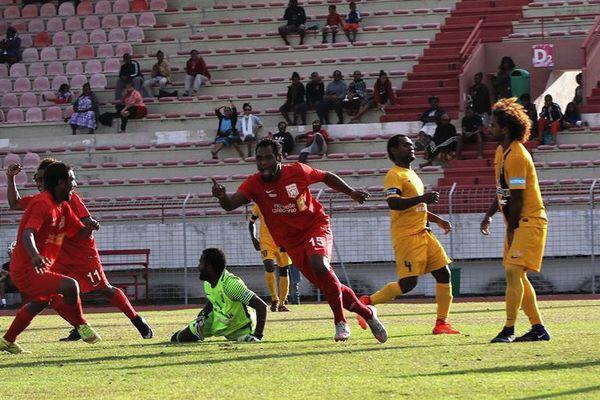 Le latéral Jonathan Kakou marque pour Tiga contre son ancien club.