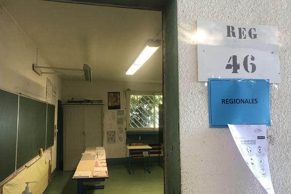 Bureau de vote 46 Rivière Saint-Louis
