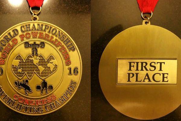 Médailles de Gérard Lama à Baton Rouge