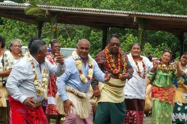 Danse de la délégation de la Nouvelle Calédonie