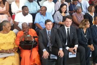 Cayenne : inauguration du complexe Serge Marigard