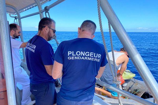Plongeur gendarmerie