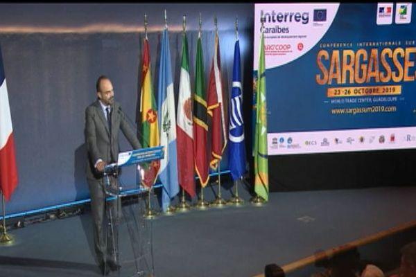 Edouard Philippe à la Conférence Internationale sur les sargasses