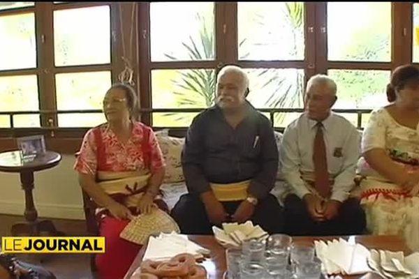La délégation des îles Tonga au FIFO