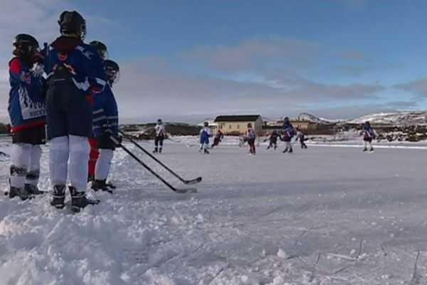 hockey exterieur etang