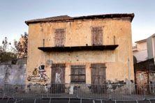 Ancien bâtiment du Crédit foncier de Madagascar à Le Port