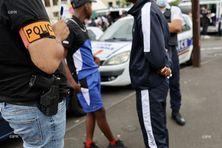 Une importante opération anti-stupéfiants menée au Chaudron, à Saint-Denis.