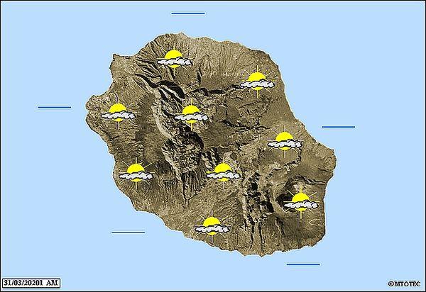 Carte météo 31 mars 2021