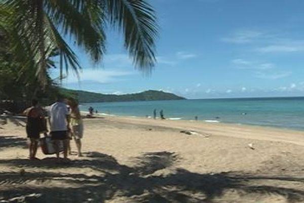 Des plages animées après la levée des barrages la fin de la semaine dernière