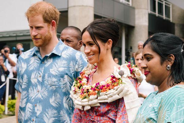 Meghan et Harry à Fidju