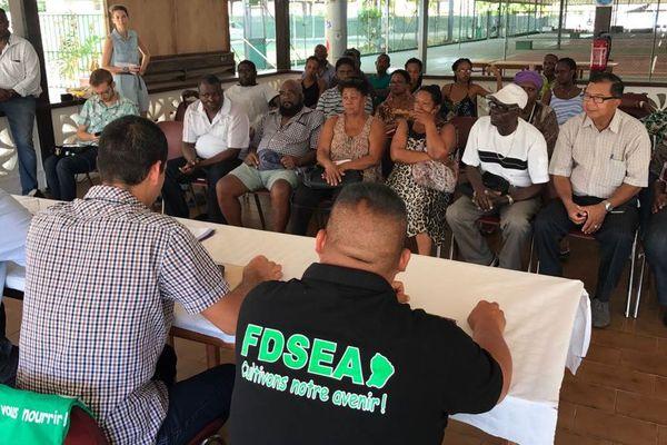 La FDSEA organisait ce matin une conférence de presse