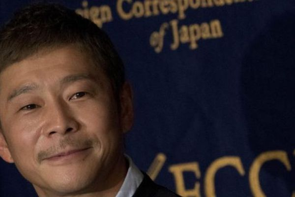 L'entrepreneur et milliardaire japonais Yusaku Maezawa