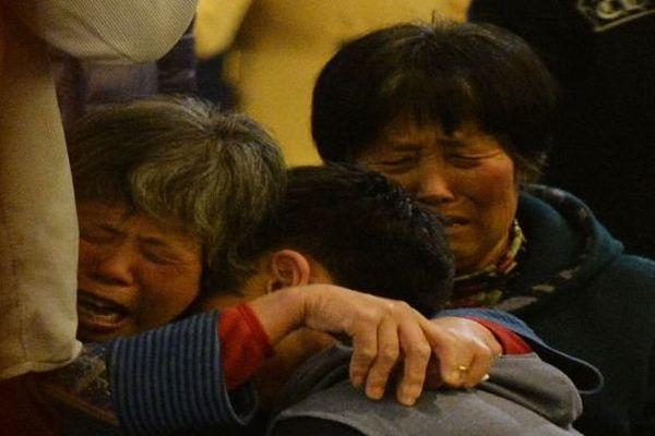 douleur familles MH370