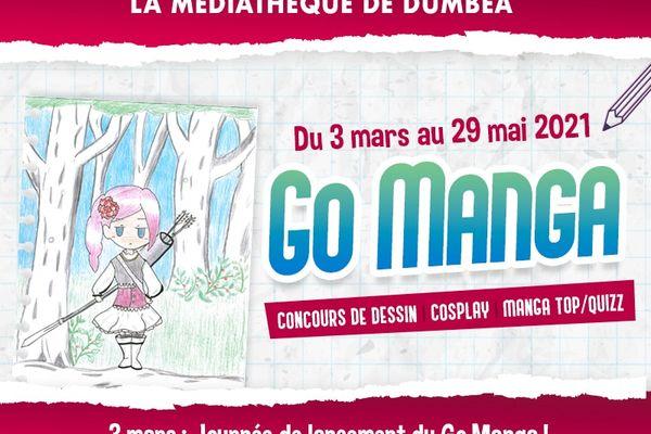Affiche Go manga