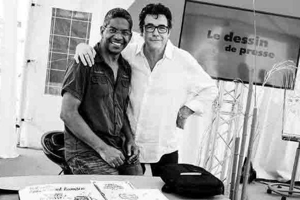 François Gabourg et Tignous