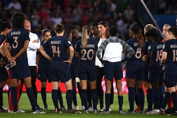 equipe de France après élimination