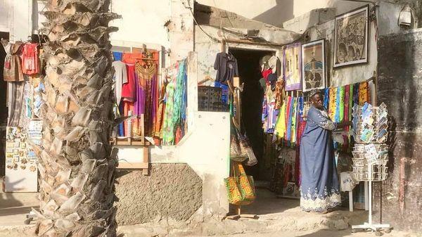Spirit of Nouméa en Afrique : magasin au Cap-Vert (2017)