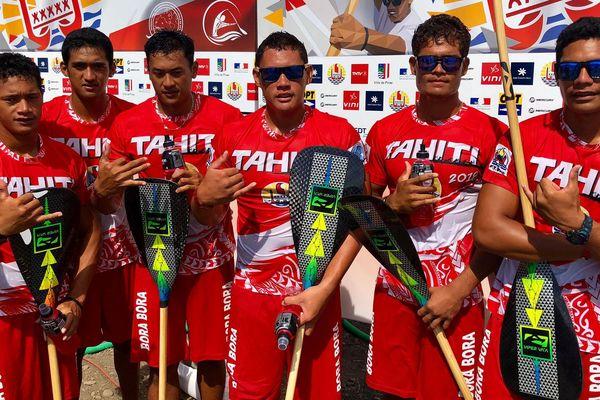 Tahiti va'a championnat du monde vitesse