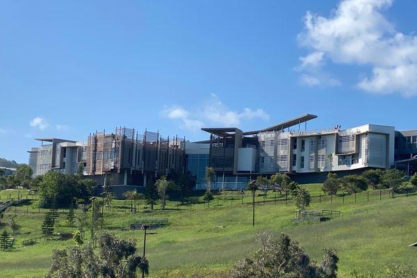 Hôtel de ville de Dumbéa, mai 2021