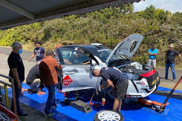Préparation rallye