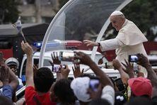 Le pape François est au Mozambique avant son arrivée à Madagascar puis l'île Maurice.
